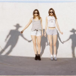 Although they've displayed no discernible talent applicable to the entertainment industry, Kendall and Kylie Jenner are being pushed into the spotlight. Why? This pic pretty much explains it all. They're holding the hands of invisible shadow men. Who do you think these shadow men represent?