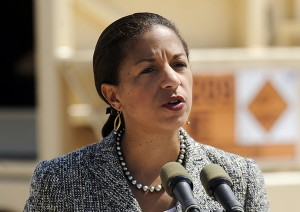 U.S. National Security advisor Susan Rice. Click to enlarge