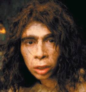 Neanderthal type male.