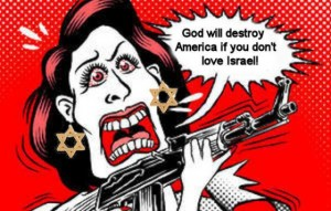 Michele Bachmann. Politically Right or Left, our politicians all must be kosher-certified. Click to enlarge