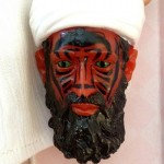 Osama bin Laden juju doll. Click to enlarge