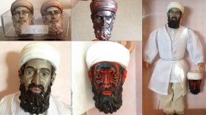 In 2006, the CIA with the help of a toymaker in China developed three prototypes of an Osama bin Laden action figure doll. The CIA said it nixed the project before any figures were shipped to South Asia. Click to enlarge