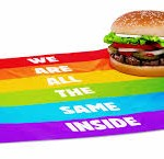 Burger King Gay Pride advert.