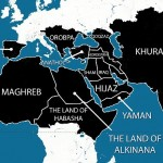 A map purportedly showing the areas ISIS plans to have under its control within five years has been widely shared online. As well as the Middle East, North Africa and large areas of Asia, it also reveals ISIS' ambition to extend into Europe. Spain, which was Muslim-ruled until the late 15th Century, would form part of the caliphate, as would the Balkan states and eastern Europe, up to and including Austria. Click to enlarge