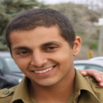 Sgt Guy Levy: murdered by the IDF to prevent his being used as a bargaining chip by Hamas. Click to enlarge