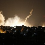 Smoke rises over Gaza as Israel announces ground offensive
