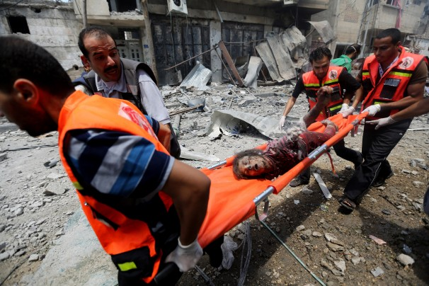Despite Israeli claims that it is doing its utmost to avoid civlian casualties, nearly 400 Palestinians have thus far been killed in the ongoin offensive. Most of them civilians. Prompting some observers to wonder if this isn't intentional?