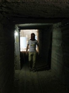 Tunnel in Gaza