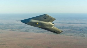 Taranis drone in flight. Click to enlarge