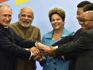 BRICS leaders. Click to enlarge
