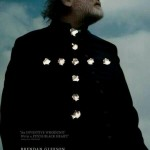 Brendan Gleeson stars in Calvary. If you can't tell what the white things are, they're bullet holes. Click to enlarge