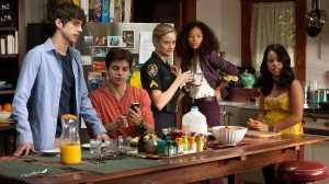 "The Fosters ""family"" consists of an inter-racial lesbian couple with children from different parents and races. Click to enlarge"