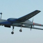 IDF long-range surveillance Heron drone. Click to enlarge