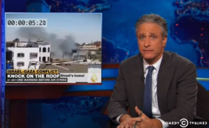 Jon Stewart Daily Show. Click to enlarge