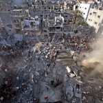 The devastation of Gaza looks very much like what we saw in New York City on 9-11. An increasing number of people are beginning to realize that the same people are behind both atrocities. One of the hallmarks of a Zionist atrocity is the utter disregard for human life. Click to enlarge