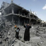 The devastation in Gaza in the aftermath of the Israeli operation.