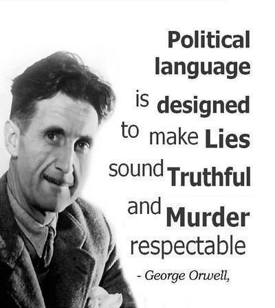 Politics and the english language by george orwell thesis