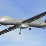 Hermes 900 UAV of the type believed to have been shot down over Iran. Click to enlarge