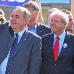Alex Salmond and Jim Sillars (right). Click to enlarge