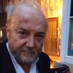 George Galloway after the attack in west London. Click to enlarge