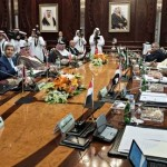 John Kerry attended a meeting of Arab states to seek support for Obama's plan for air strikes against the Islamic militants. Click to enlarge