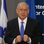 Netanyahu waxes eloquent Thursday. Click to enlarge
