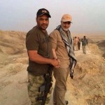 Qassem Suleimani on the ground near Amerli. Click to enlarge