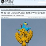 Ukraine - Truth Where Youd Least Expect It. Sept-Oct issue of Foreign Affairs. Click to enlarge