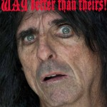 """Alice Cooper covers the Bob Dylan song """"Isis"""""""