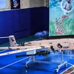Iran unveils indigenous combat drone armed with missiles