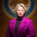 Annise Parker, Houston's first openly lesbian mayor. Click to enlarge