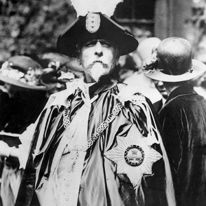 Basil Zaharoff displays the Knight Grand Cross of the Bath which he received in 1919 for selling the munitions that killed 10 million goyim on both sides in WW1. Click to enlarge