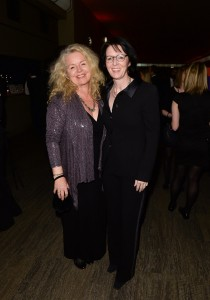 Head of CBC-Radio, Heather Conway, right, and her partner, filmmaker Patricia Rozema. Click to enlarge