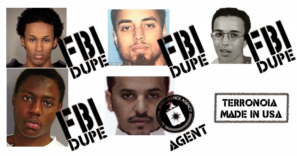 "The FBI has an impressive portfolio of intentionally created, then foiled terror plots. Its methods include allowing suspects to handle both real and inoperable weapons and explosives. These methods allow the FBI to switch entrapment cases ""live"" at any moment simply by switching out duds and arrests with real explosives and successful attacks. Because the FBI uses ""informants,"" when attacks go live, these confidential assets can be blamed, obfuscating the FBI's involvement.  Click to enlarge"