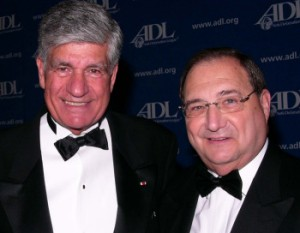 Levy of Publicus with ADL's Abe Foxman