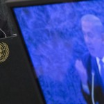 Netanyahu's most recent Iranian diatribe at the U.N. Click to enlarge