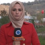 Press TV correspondent Serena Shim. Click to enlarge