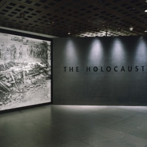 The permanent exhibit at the U.S. Holocaust Museum in Washington, D.C.
