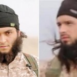 Like dos Santos (R), Maxime Hauchard (L), the second Frenchman identified in the video, adopted his extremist views after frequenting Islamic websites. Click to enlarge