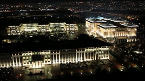 Turkey's new presidential palace. Click to enlarge