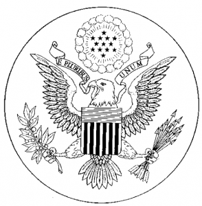 U.S. great seal. Click to enlarge