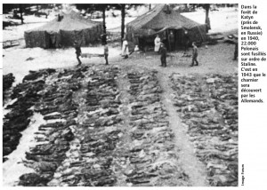 Katyn massacre victims. Click to enlarge
