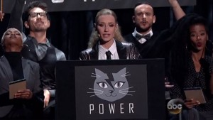 This could be the official logo of Sex Kitten Programming. The face of a cat that has a thunderbolt (representing electroshock torture) splitting its head in half (representing the fracturing of the psyche of MK slaves).