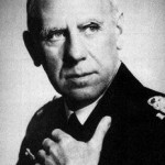 Admiral Wilhelm Canaris making the Masonic hand-to-neck sign