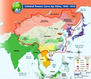 Colonial carve up of China. Click to enlarge