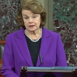 Senator Dianne Feinstein. Click to enlarge