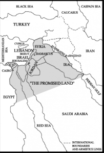 Greater Israel. Click to enlarge