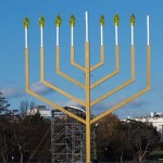In  Judaism, the Hanukkah menorah is the symbol of the supreme position which Talmudic People supposedly occupy in God's eyes.