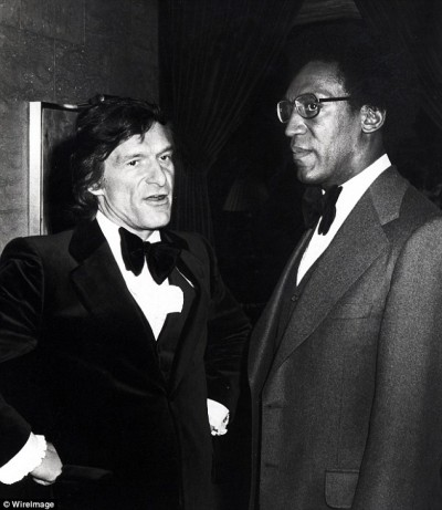 Birds of a feather? A younger Hugh Hefner and Bill Cosby