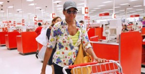Shopping with Michelle Obama. Click to enlarge